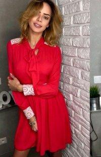 Lola Lena sukienka czerwona