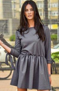 Numinou NU124 sukienka grafitowa