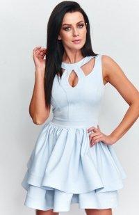 Roco R-198 sukienka błękitna