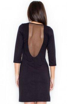 Katrus K317 sukienka czarna