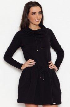 Katrus K260 sukienka czarna