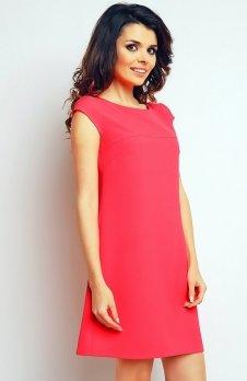 Infinite You M074 sukienka różowa