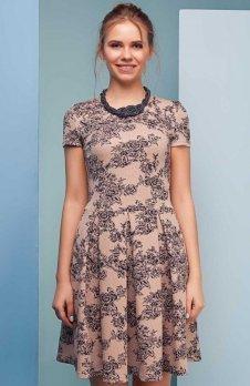 Cover GR1501 sukienka beżowa