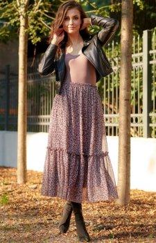Kolorowa spódnica maxi 0032/R91