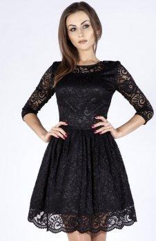 Bicot 2128-05 sukienka czarna