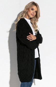 Fobya F573 sweter czarny