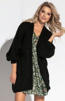 Fobya F569 sweter czarny