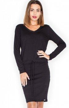 Katrus K334 sukienka czarna