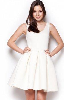 Figl M344 sukienka ecru