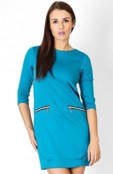 Vera Fashion Oxana sukienka błękitna
