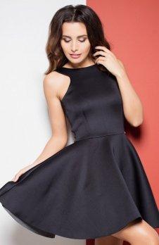Katrus K265 sukienka czarna