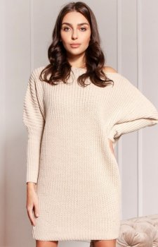 Oversizowy sweter damski SWE135