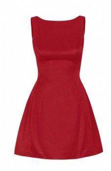 Ivon 186 sukienka czerwona
