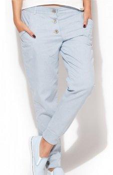 Katrus K163 spodnie błękitna