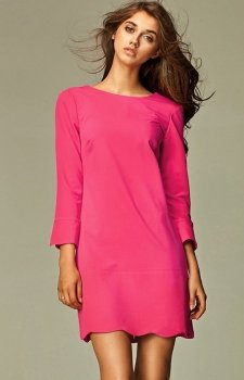 Nife s28 sukienka różowa