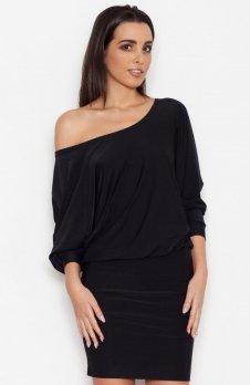 Katrus K262 sukienka czarna