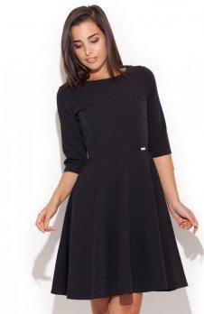 Katrus K219 sukienka czarna