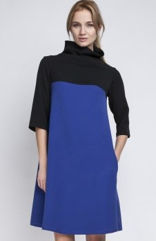 Lanti SUK121 sukienka indygo
