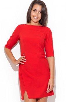 Katrus K200 sukienka czerwona