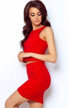 Ivon Margot spódnica czerwona