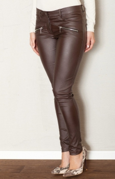 Figl M361 spodnie brąz