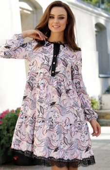 Lemoniade L288 sukienka pantofelki
