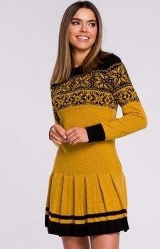 Sweterkowa sukienka święta MXS01