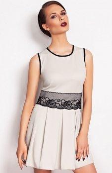 Vera Fashion Elodie sukienka beż