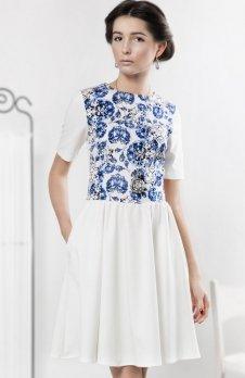 Kasia Miciak design porcelanowa sukienka