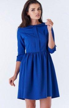 Awama A183 sukienka niebieska