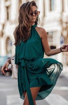 Ivon Livia sukienka zielona