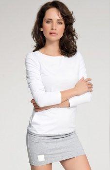 Numinou NU32 sukienka biało-szara