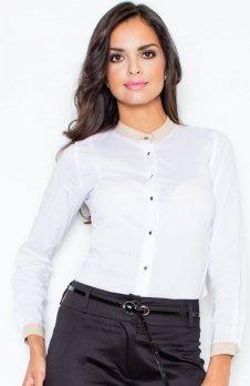 Figl M157 koszula biała