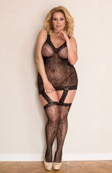 Softline Garterbelt MAXI bodystocking