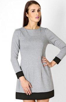 Vera Fashion Sylwia sukienka szara