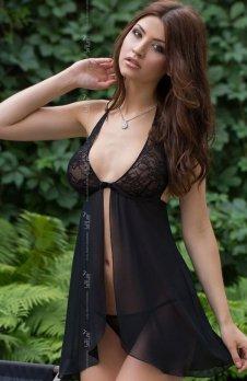 Softline Irina komplet czarny