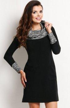 Awama A113 sukienka czarna