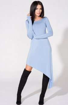 Tessita T152/4 sukienka niebieska