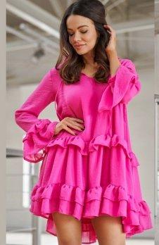 *Lola Spanish sukienka fuksja