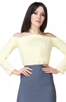 Tessita T199 bluzka żółta