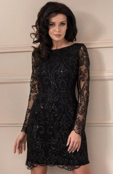 Roco 0122 sukienka czarna