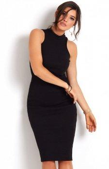Ołówkowa sukienka czarna Rosa