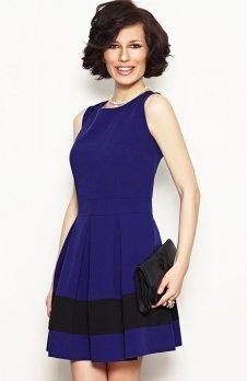 Vera Fashion Elodie sukienka chabrowa
