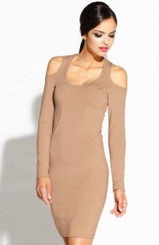 Dursi Epien sukienka karmelowa