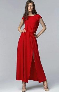 Nife S61 sukienka czerwona
