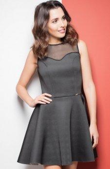 Katrus K238 sukienka czarna