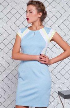 Cover GR1145 sukienka błękitna