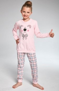Cornette Kids Girl 594/96 Teddy piżama