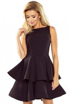Numoco 169-3 sukienka czarna