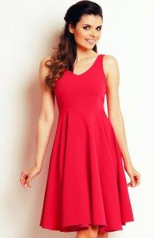 Awama A139 sukienka różowa